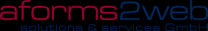 aforms2web solutions & services GmbH Logo